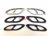 For Mercedes Benz GLC A B C EClass W205 Exhaust Cover Trim W166 C292 GLS 400