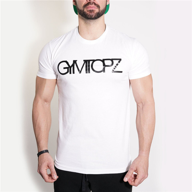 YEMEKE 2018 Men's T-shirt Casual Tees Bodybuilding Fashion Brand Clothing Man Fitted Workout Compression Shirts for Men 2