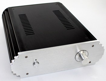 WA9 Aluminum enclosure Preamp chassis Power amplifier case/box size 312*265*82mm