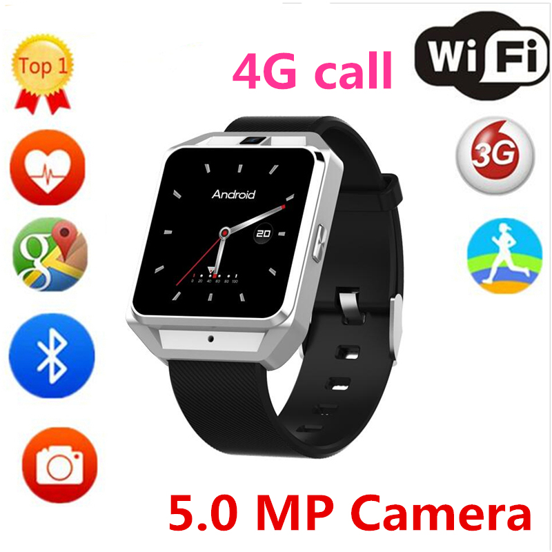 New 4G Smart Watch H5/M5 MTK6737 Android 6.0 SIM Card Heart Rate Monitor With GPS Camera Smart-watches for Men Women PK amazfit kinco 512m 4g mt6572a gps ips 1 3 inch android 4 4 heart rate monitor smart phone watch steps anti lost bracelet for ios android