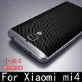 Caso híbrido de lujo para xiaomi mi4 mi 4 marco duro de la pc + del silicio la cubierta trasera de protección para xiaomi mi 4 cubierta del teléfono móvil shell