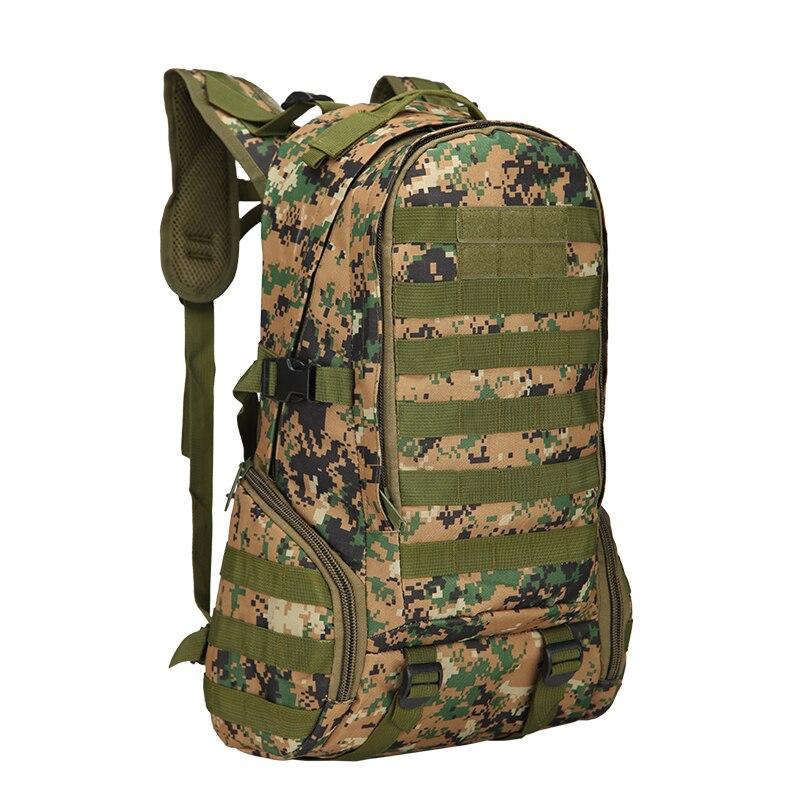 Sac de randonnée 35L sac à dos d'escalade Camouflage imperméable à l'eau sac d'école de Sport sac de Camping en plein air sac à dos d'escalade de Ski