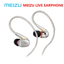 Original Meizu Live Quad Driver Earphone HiFi Professional Monitor Audiophile Earphones Four Unit Balanced Armature for phone