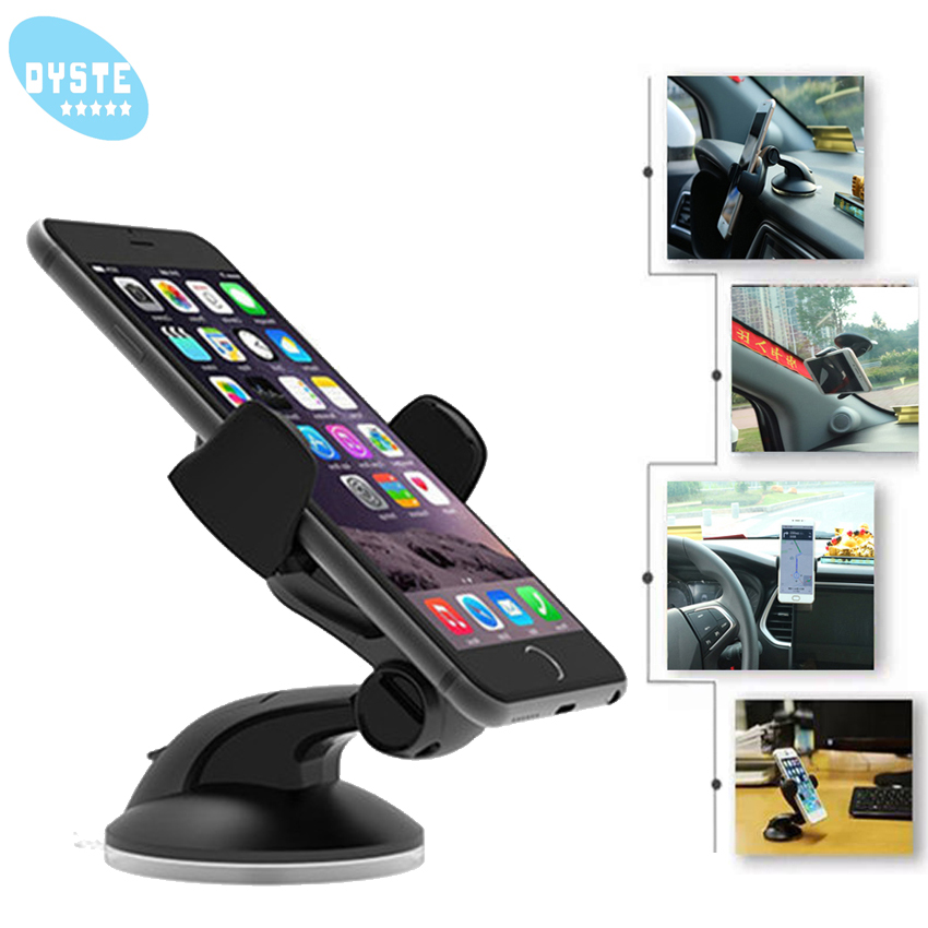 Car Phone Holder For Phone In Car Dashboard Smartphone Support Universal Mount Celular Stand For Samsung S10 Plus Galaxy S9 S8