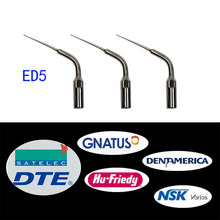 3 pieces/lot Dental Scaler Endo Tip ED5 for DTE/ Satelec/ NSK/ Gnatus/ Bonart
