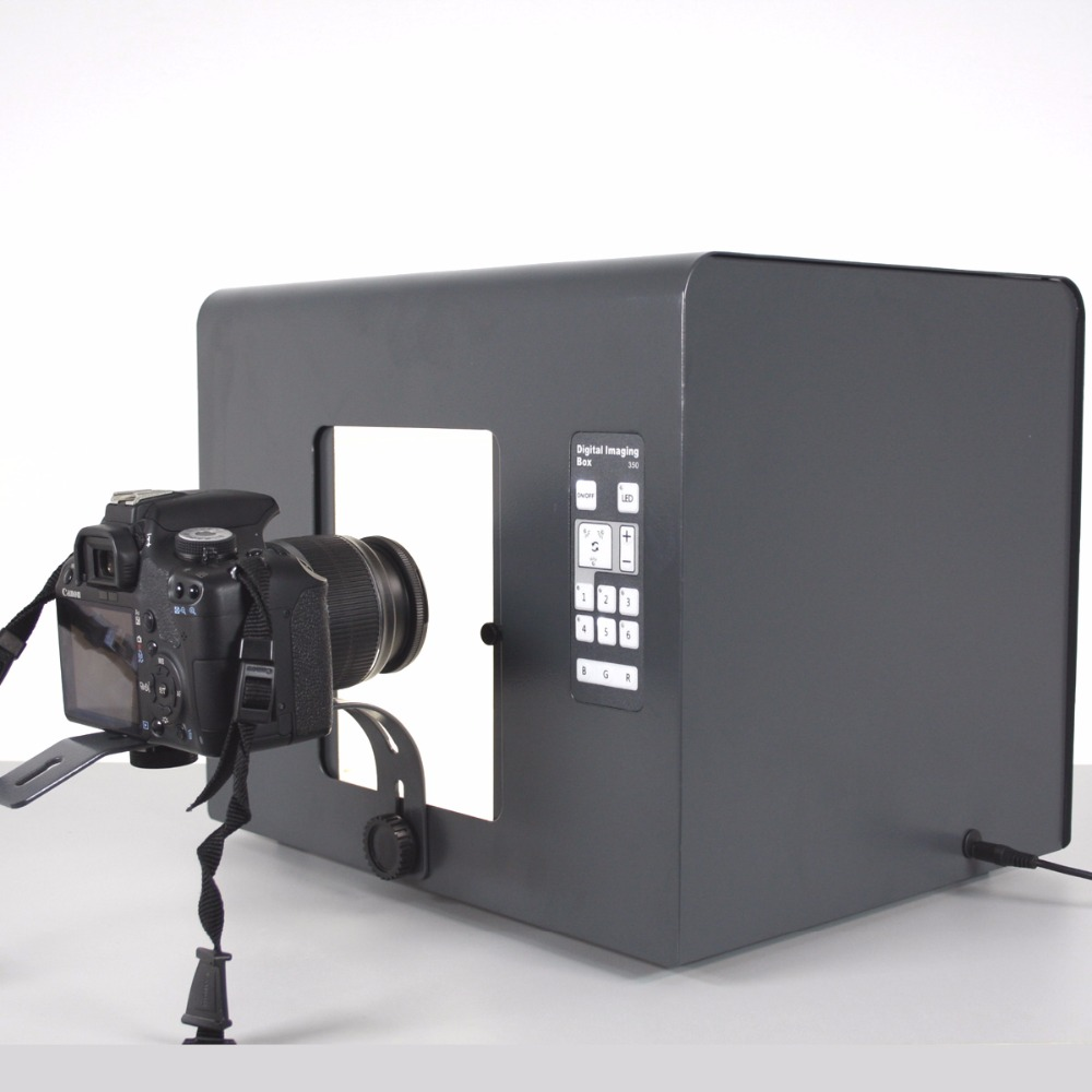 B350 Jewelry Digital Photo Box LED dimming Lighting Photography equipment and props CD50