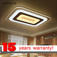 LOFAHS Super Thin Modern Led Ceiling Chandelier Lamp Living Room Bedroom Remote Dimmable Led Chandelier Led