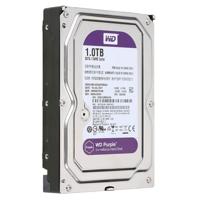 Western Digital WD Purple 1TB Surveillance Hard Disk Drive