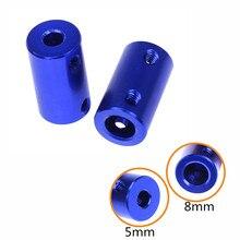 3d принтер 5 мм 8 мм алюминиевый сплав гибкое соединение гибкий вал Соединительный винт Запчасти для шагового двигателя