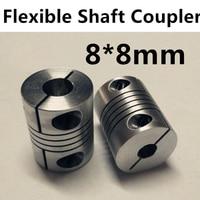 1pcs Wholesale 8mm X 8mm D20 L25 CNC Stepper Motor Shaft Coupler Flexible Coupling 8x8mm Motor