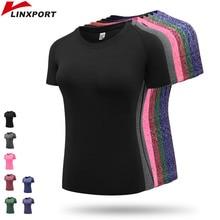 Купить с кэшбэком Fitness Women's Quick Drying Shirts Elastic Yoga Mesh Sports T Shirt Tights Gym Running Tops Short Sleeve Tees Blouses Clothes