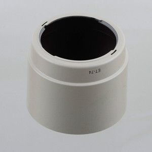 Image 2 - Бленда для объектива CANON EF 70 200 мм, белая бленда для CANON EF 70 200 мм f/4L F4 USM, ET74