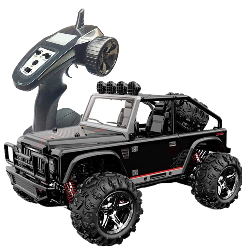 Rc Remote Controlled Car, Vehicle Model For Children Scale 1/22 At Speed ​​4Wd