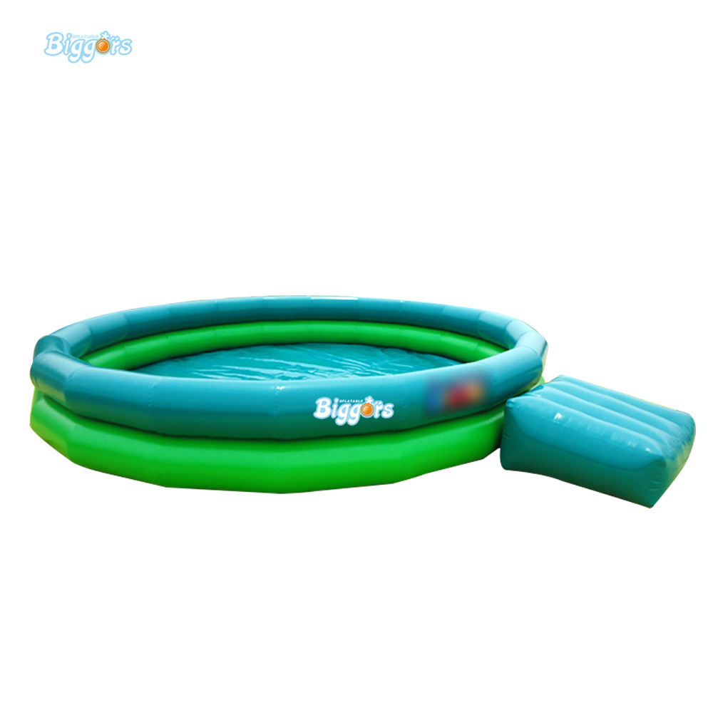 Inflatable Biggors Water Park Equipment Inflatable Swimming Pool With Step For Sale inflatable biggors wholesale price inflatable bouncer slide with pool for water park