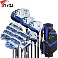 Бренд TTJGJ полный мини Половина Мужские Гольф клубы комплект полный клюшки для гольфа набор Графит Валы Гольф комплект гольф клубы фирменные