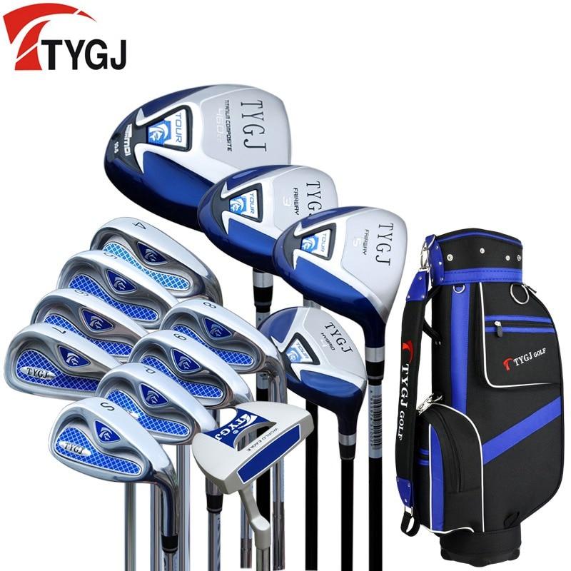 מותג TTJGJ מלא מיני חצי mens מועדוני גולף להשלים להגדיר מלא גולף מגהצים להגדיר גרפיט פירים גולף להגדיר מועדוני גולף ממותגים