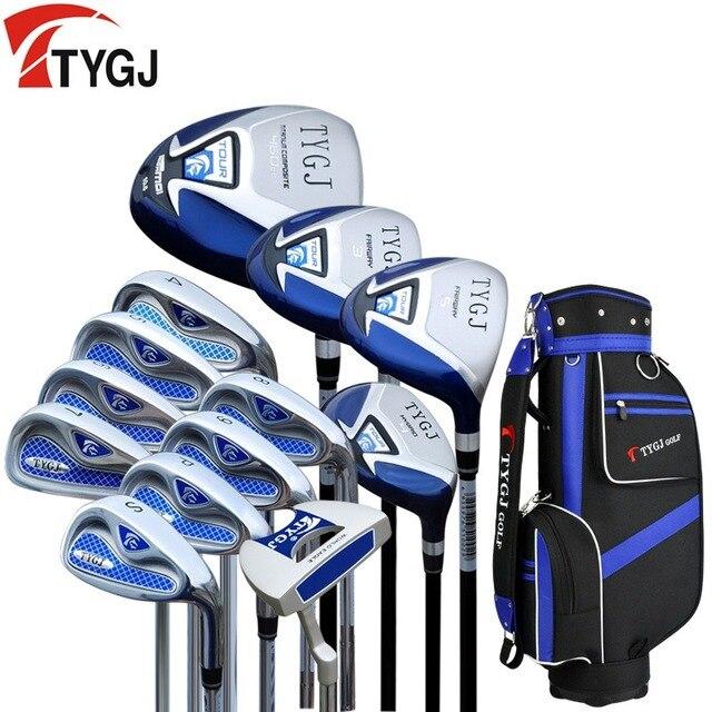 Brand Ttjgj Full Mini Half Mens Golf Clubs Complete Set Irons Graphite Shafts