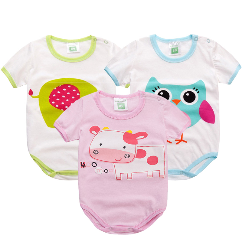 Unisex Baby Romper Colorful Cotton Newborn Clothes Cartoon Baby Girls Clothes Toddler Kids Costume Baby Boys Romper kids clothing 2017 autumn fashion baby boys girls romper unisex cotton long sleeve toddler jumpsuit newborn baby clothes