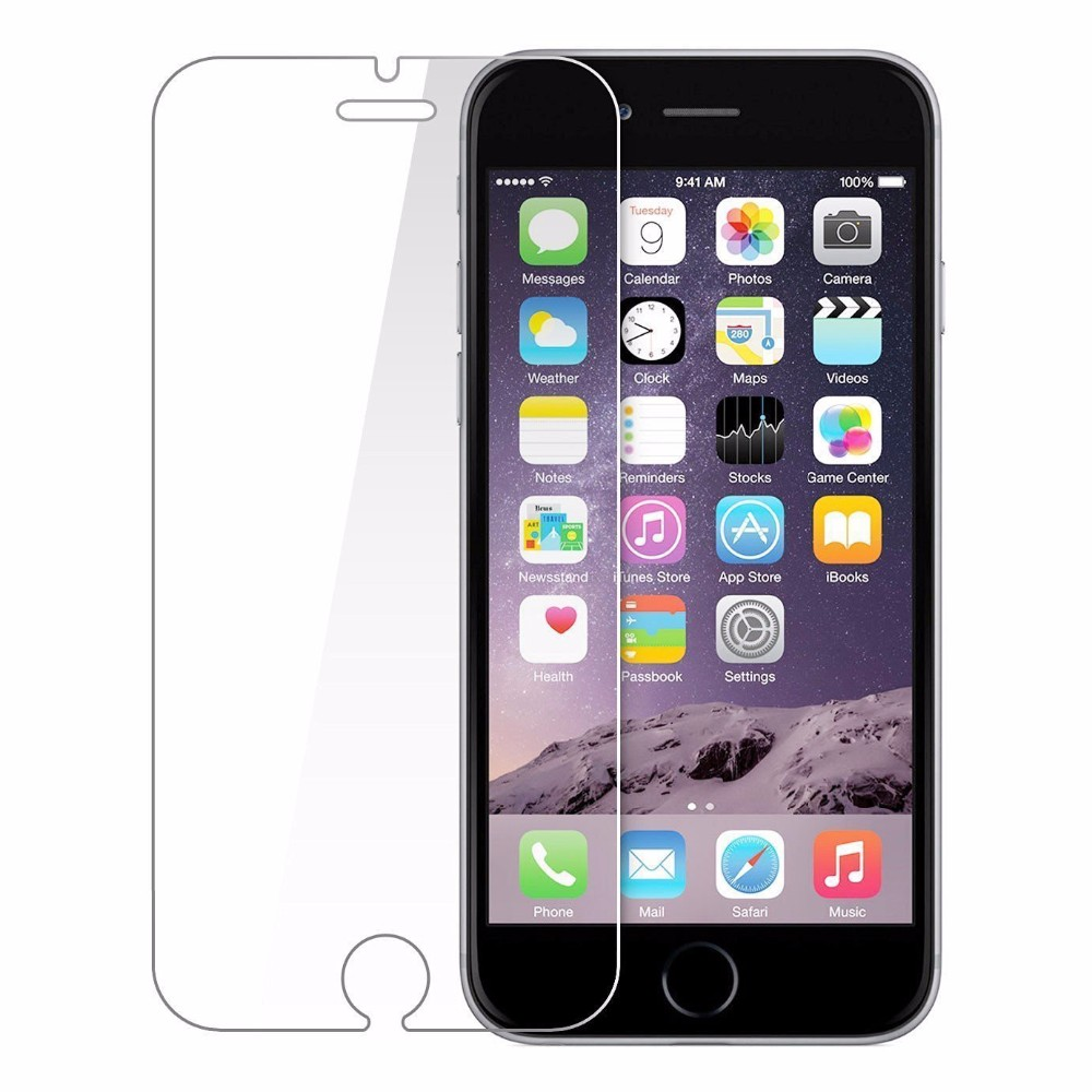 protctive glass on the for iphone 6 6s glass 5S Premium Tempered Glass Screen Protector for iphone 5 6 7glass screen protector