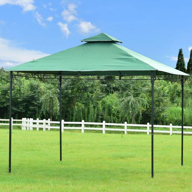 Goplus 2  Tier 10u0027 X10u0027 Gazebo Canopy Shelter Patio Wedding Party Tent  Modern