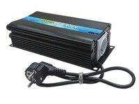 600w 12v to 110v/220v Battery Charger Inverter, Inverter Built in Charger 12A5A