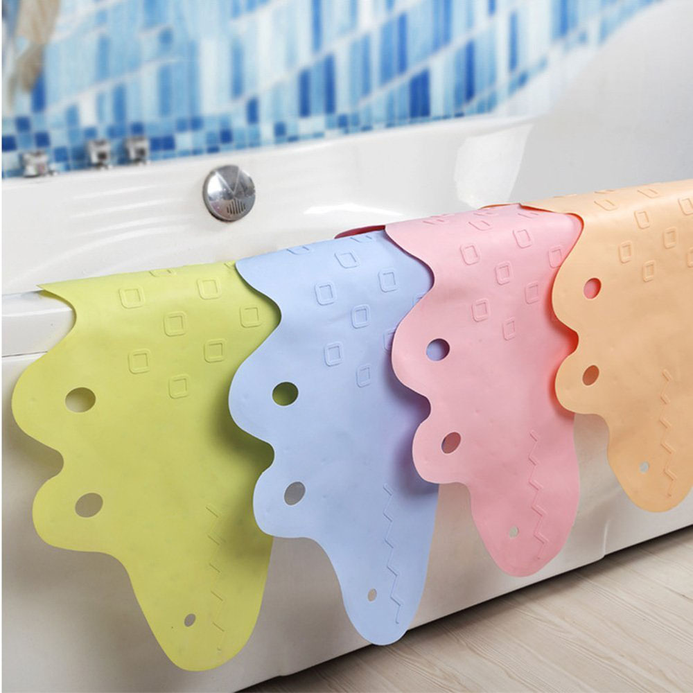 95x35CM Baby Cute Crocodile Bathtub Mat Kids Non Slip Bath