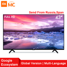 Xiao mi Smart 4A 43 zoll mi LED Full HD Android TV 8,0 4A 108 cm Ultimative PatchWall 1 gb 8 gb Ultra-helle Led-anzeige Fernsehen(China)