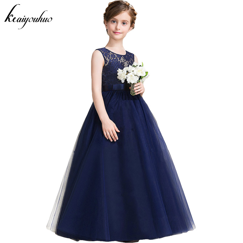 Keaiyouhuo 2017 summer flower girls wedding dress for for Dresses for teenagers for weddings