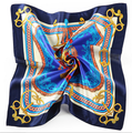 [Ode To Joy] Elegent Women Square 100%Silk Scarf Printed Fashion Spring And Autumn satin Silk lady's Scarf Shawl top quality