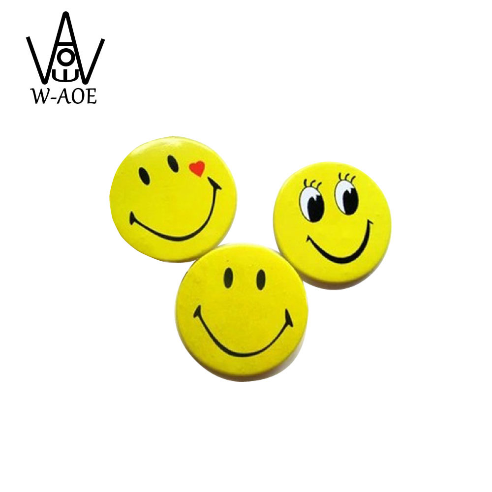 40pcs Cartoon Brooch 3cm Badge SMILE Expression Pin Service Parent-Child Game Hotel Employee Service Souvenir Brooch30mm