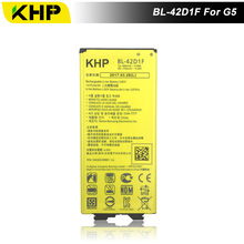 2017 кхп новый 100% BL-42D1F телефон Батарея для LG G5 H868 H860 F700K H850 реальные 2800 мАч высокое качество Мобильный Замена Батарея