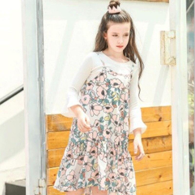 ブルーレイヤードチュチュドレスセットサスペンダー赤ちゃん女の子のドレスで長いスリーブトップ2ピースセット2018春夏女の赤ちゃん服