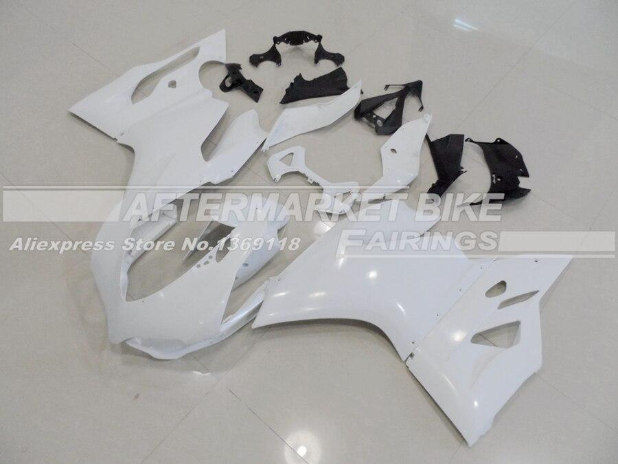 Выполните мотоцикл Неокрашенный ABS обтекатель комплект для Ducati 1199 panigale 2013 2014 литья под давлением пустой кузов