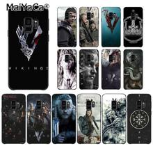 MaiYaCa Ragnar Lothbrok Vikings Series Phone Case for Samsung Galaxy S9 plus S7 edge S6 S10Plus S10lite S10E S8 plus(China)
