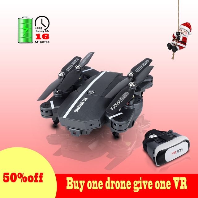 US $25 98  Newest VR 8807 8807W Updater Version Long Flytime RC Quadcopter  with Camera 3D Foldable Mini Dron VS E58 XS809HW SG700 SG900-in RC