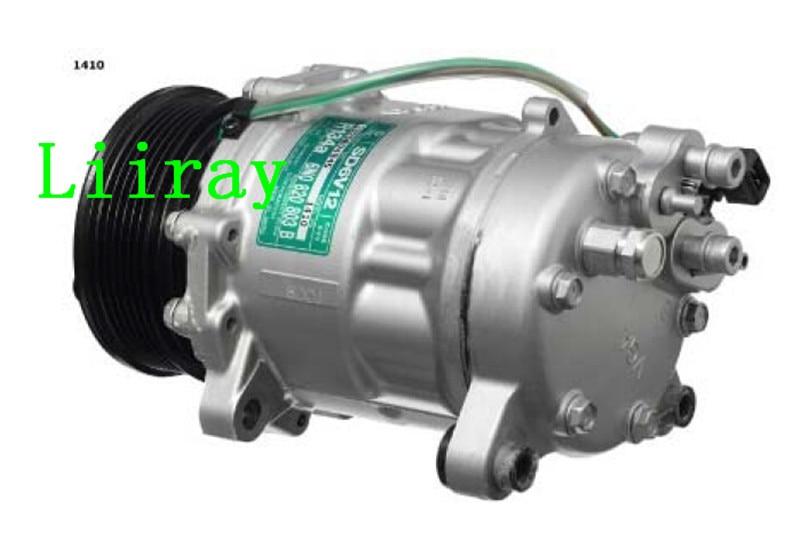 Auto ac compressor for  VW  Lupo  polo 1.4  6N0820803B 6N0820803C TSP0159243