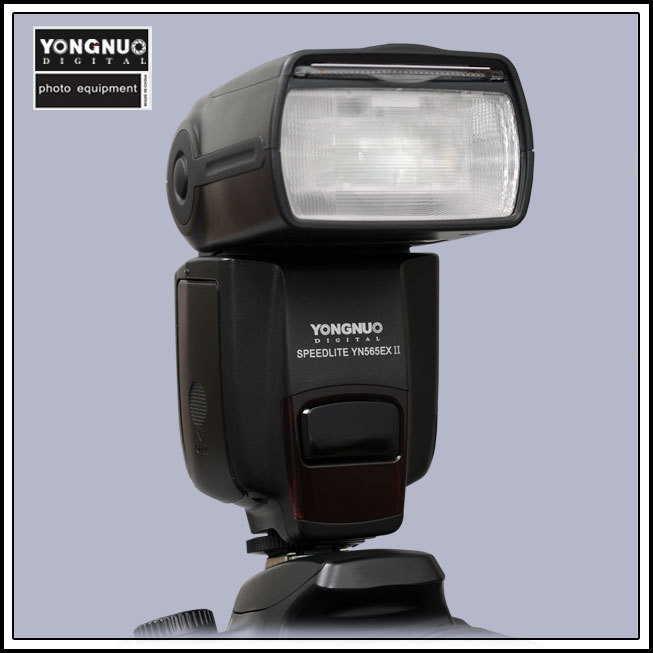 Yongnuo YN-565EX II for Canon YN565EX YN-565 EX ETTL E-TTL Flash Speedlight Speedlite 5D II 350D 450D 500D 550D 600D 1000D 1100D for nikon canon dslr camera speedlite hss 1 8000s ttl flash speedlight inseesi in586exii vs yongnuo yn565ex yn568ex yn 565ex