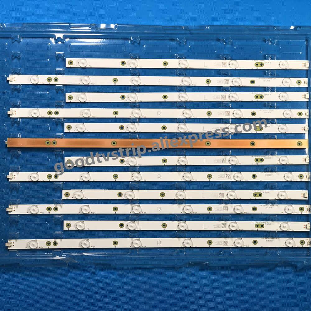"LED شريط إضاءة خلفي ل آو C 50 ""التلفزيون LE50D6660/80 TPT500J1-LE8 YX-50018014 LC-50LB261U 500TT26 500TT25 V5 50PFL6340/T3 LD50P03Q"