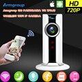 Armgroup mini wifi câmera ip sem fio 720 p smart 180 vr panorâmica cam vigilância de rede cctv câmera de segurança de proteção para casa
