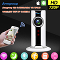 Vr armgroup mini wifi cámara ip inalámbrica 720 p smart 180 panorámica protección red cctv cámara de seguridad inicio de vigilancia cam