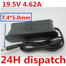 HSW 19.5V 4.62A 7.4*5.0MM Laptop Netbook Ac Adapter Power Su