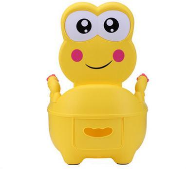 Fashion Cute Frog Cartoon Baby Toilet Potty Seats Infant Portable Toilet Unisex Lovely Drawer Training Potty T7013 nadia guidi бикини