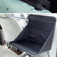 VODOOL Портативный автомобиля компьютерный стол кронштейн складной стол ноутбук заднем сиденье автомобиля Таблица владелец ноутбука Еда стол поднос сумка для хранения