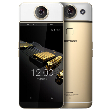 Original PROTRULY D7 5.5inch AMOLED 360 Degree VR 13MP Mobile Phone 4G LTE Android MTK6797 Deca Core 3GB+32GB 3650mAh Smartphone