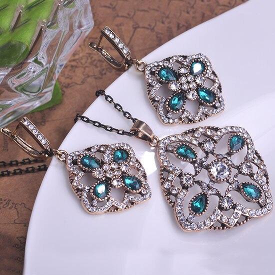 real del diseo de moda de lujo turco bijuterias joyera establece coral collar mujer brincos joyera