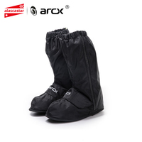 ARCX Motorcycle Boots Waterproof Rain Covers Non slip Waterproof Rain Shoes Cover Adjustable Tightness Rain Cover Shoes L60580