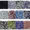 Hot 2000 Pçs/lote 3mm Brilhante Strass Resina Flatback Beads para Nail Art Craft DIY