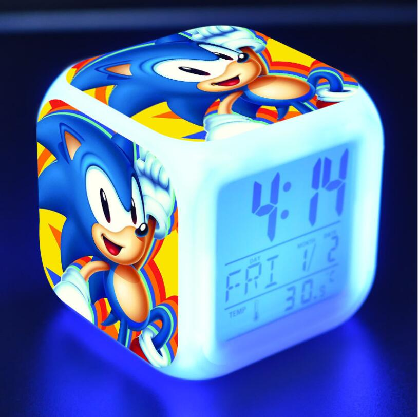 Sonic The Hedgehog LED Cube Alarm Clock 20