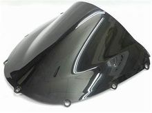 LJBKOALL for 2002-2003 Honda CBR 900RR 954RR ABS Motorcycle Black Smoke Double Bubble Windshield Windscreen High quality