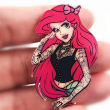 Cool Girl Badge Brooch